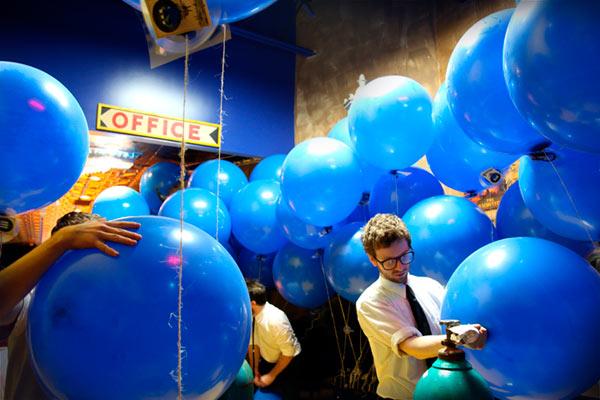 Festa azienda palloncini