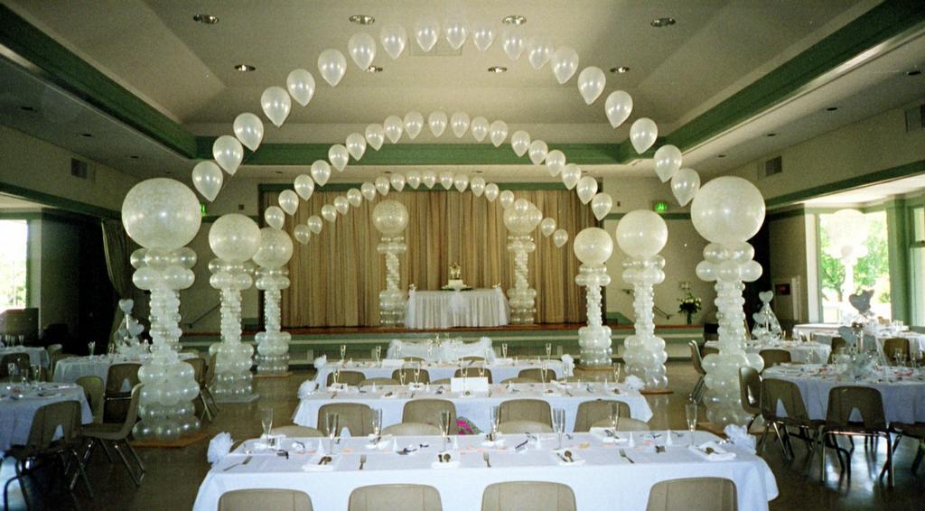 Allestimento matrimonio palloncini