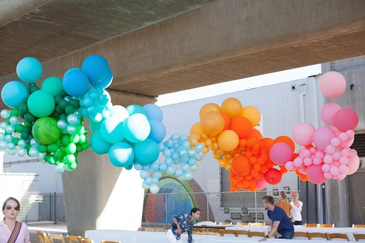 eventi palloncini milano