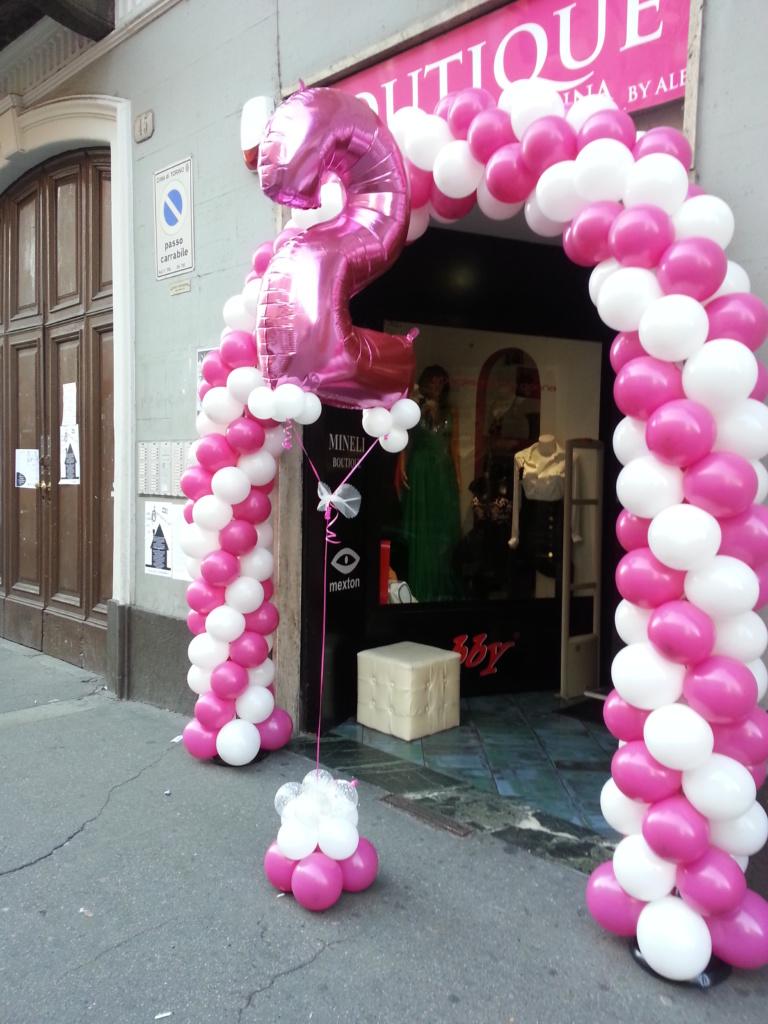 Allestimenti palloncini Como