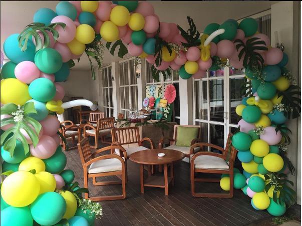 archi di palloncini sesto san giovanni
