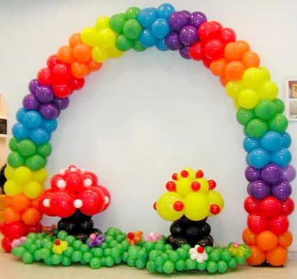 Arco di palloncini milano