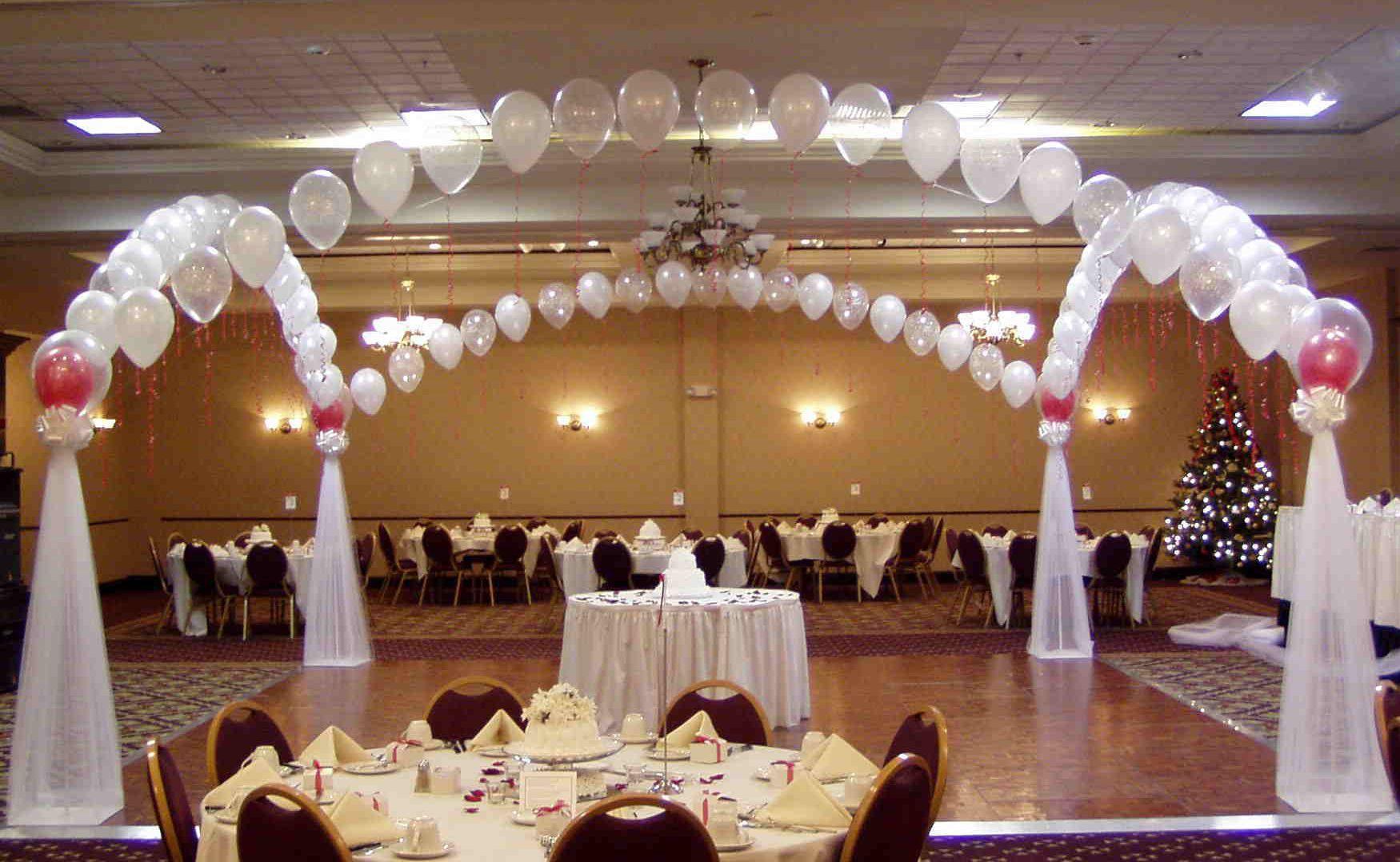 Arco palloncini matrimonio Monza