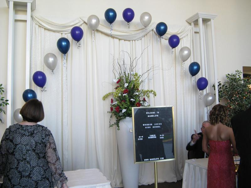 Arco palloncini matrimonio Lissone