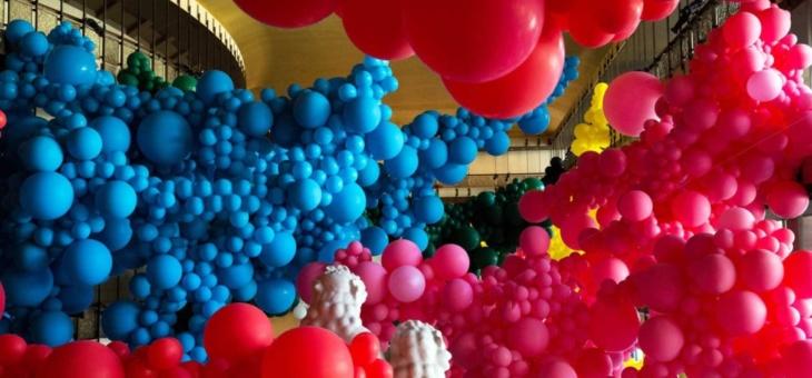 Allestimenti palloncini per Natale