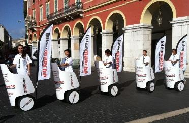 Street marketing Milano palloncini