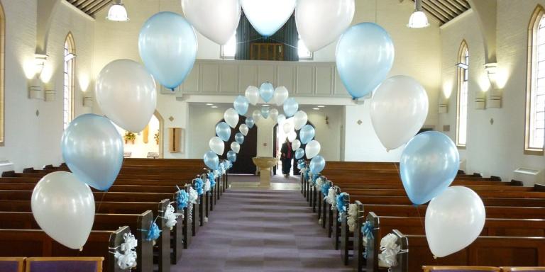 matrimonio con palloncini lecco