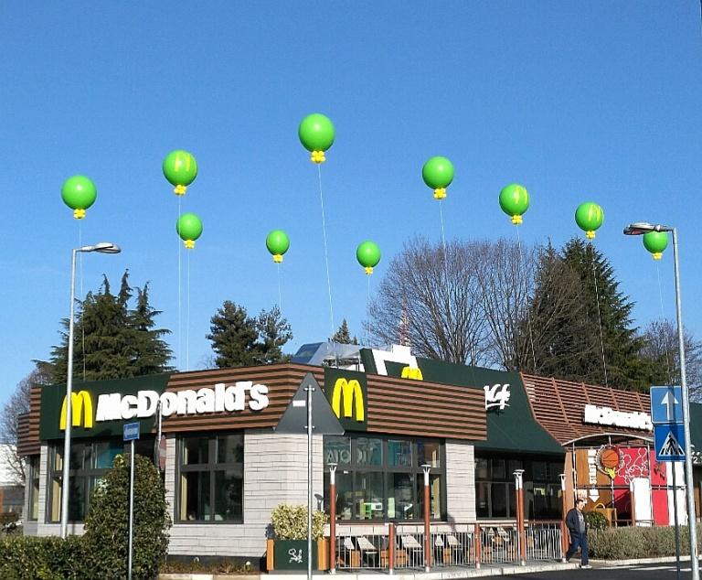 Palloni gonfiabili pubblicitari prezzi