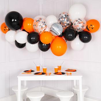 Allestimenti halloween con palloncini
