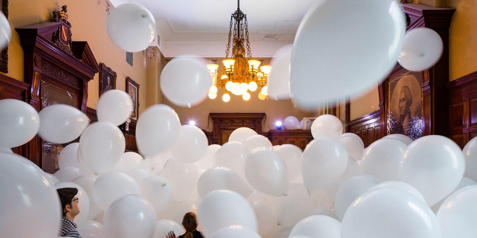 Cascate palloncini Bergamo