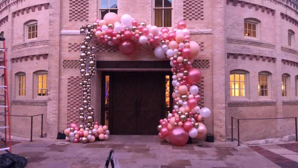 Cascate di palloncini Torino