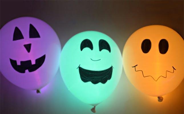 Allestimenti halloween palloncini milano