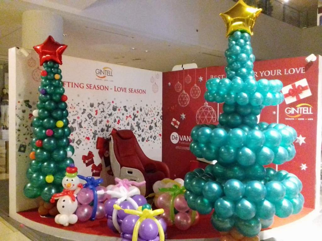 Allestimenti Natale per attività commerciale