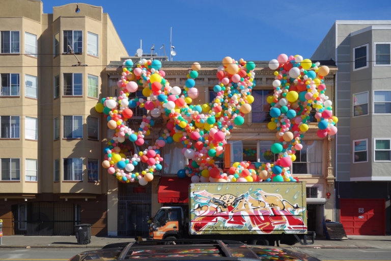 guerrilla marketing con palloncini