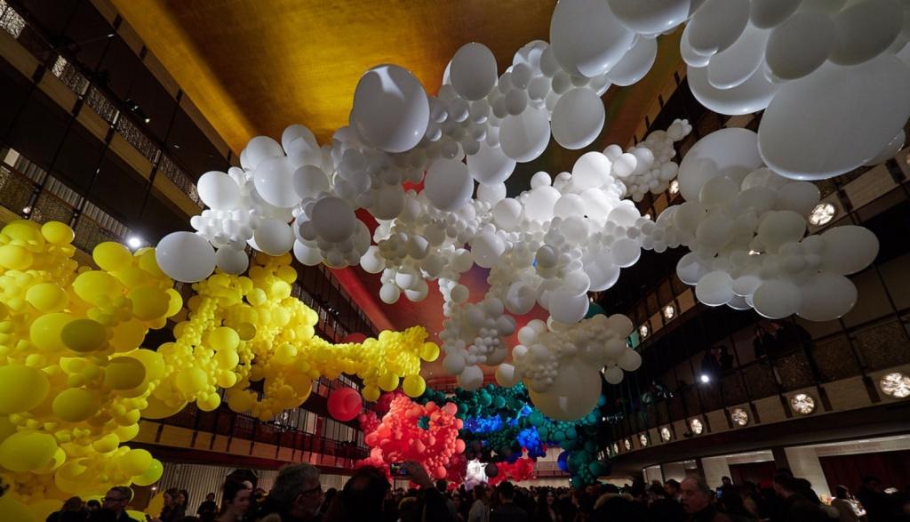 allestimenti grandi eventi palloncini