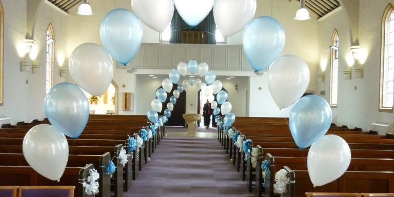 allestimento palloncini matrimonio milano