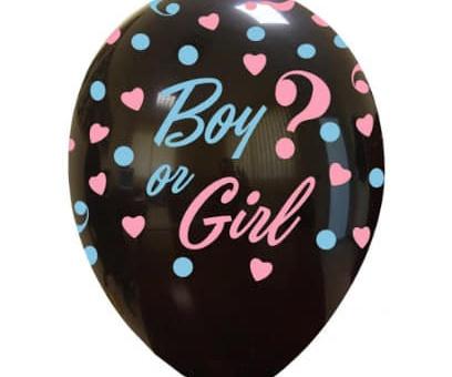Allestimento per baby shower: il pallone esplosivo