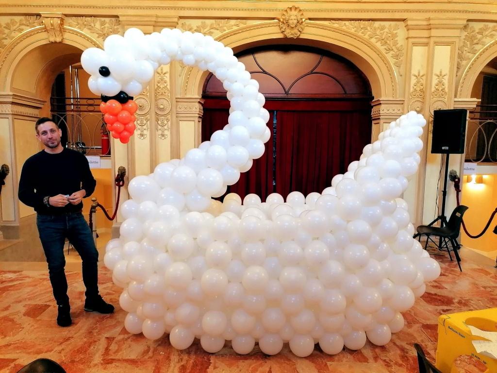 Scenografie con palloncini Bergamo