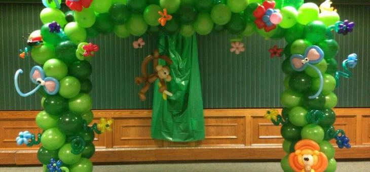 Palloncini archi Bresso feste